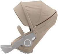 Stokke Xplory Or Crusi Textile Set In Beige Melange (Fabric Only)