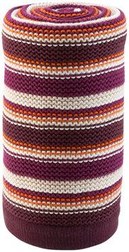 Stokke Xplory Knitted Blanket In Purple And Orange