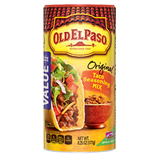 Old El Paso® Taco Seasoning Mix - Canister