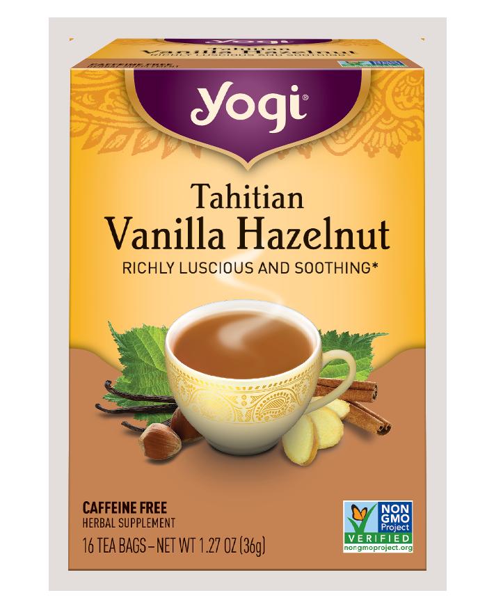 Yogi Tea Yogi Tahitian Vanilla Hazelnut Tea