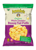 Annie's® Organic White Cheddar Bunny Tail Puffs