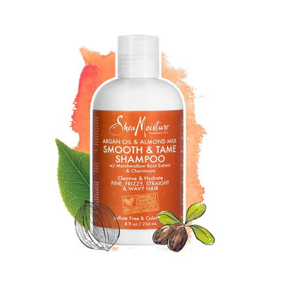 SheaMoisture Argan Oil & Almond Milk Smooth & Tame Shampoo