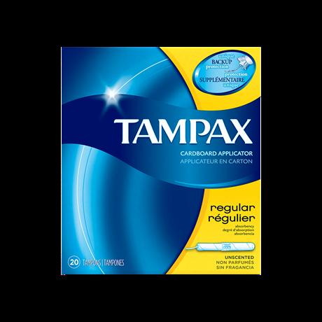 Tampax Cardboard Regular