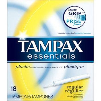 Tampax Essentials Plastic Regular