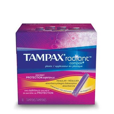 Tampax Radiant Compak Super