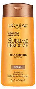 L'Oréal Paris Sublime Bronze™ Self-Tanning Lotion