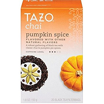 Tazo Chai Pumpkin Spice Black Tea