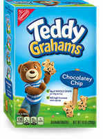 Nabisco Teddy Grahams Honey Maid Graham Snacks Chocolatey Chip