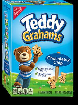 Nabisco Teddy Grahams Honey Maid Graham Snacks Chocolatey Chip