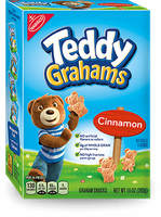 Nabisco Teddy Grahams Snacks Honey Maid Cinnamon Bags