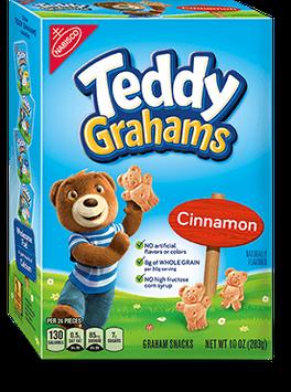 Nabisco Teddy Grahams Snacks Honey Maid Cinnamon Bags