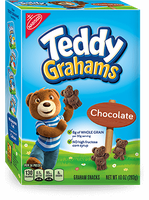 Nabisco Teddy Graham Chocolate Graham Snacks