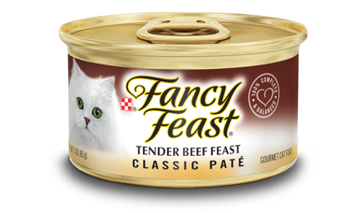 Fancy Feast® Classic Tender Beef Gourmet Wet Cat Food