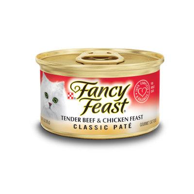 Fancy Feast® Classic Tender Beef & Chicken Gourmet Wet Cat Food