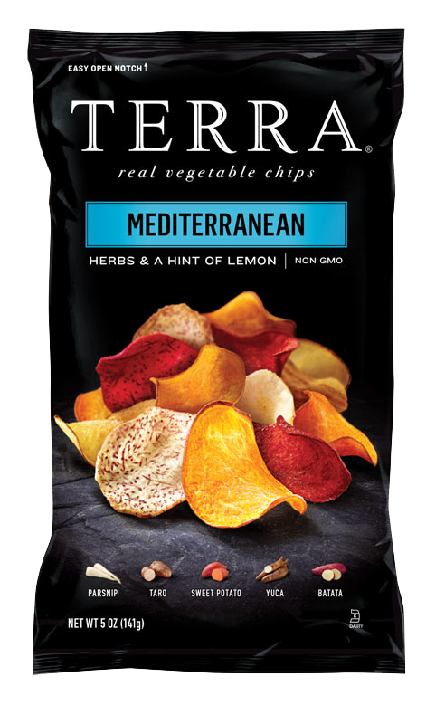 TERRA® Exotic Vegetable Chips Mediterranean