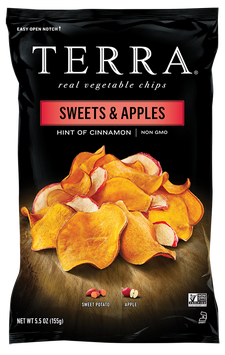 TERRA® Sweet Potato Chips Sweets & Apples Chips Hint of Cinnamon