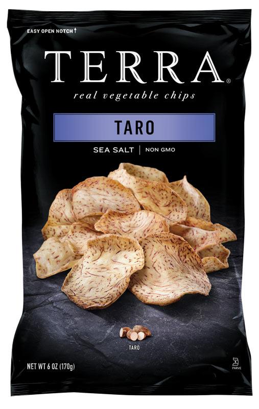 TERRA® Exotic Vegetable Chips Taro Chips Sea Salt