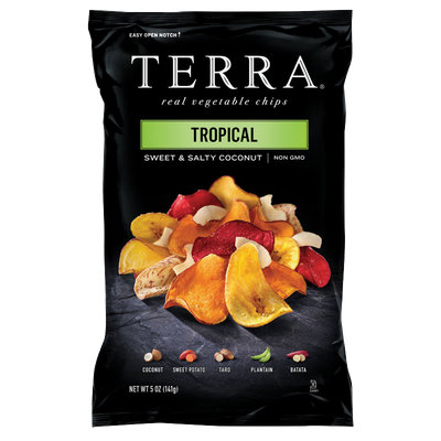 TERRA® Exotic Vegetable Chips Tropical Sweet And Salty Coconut