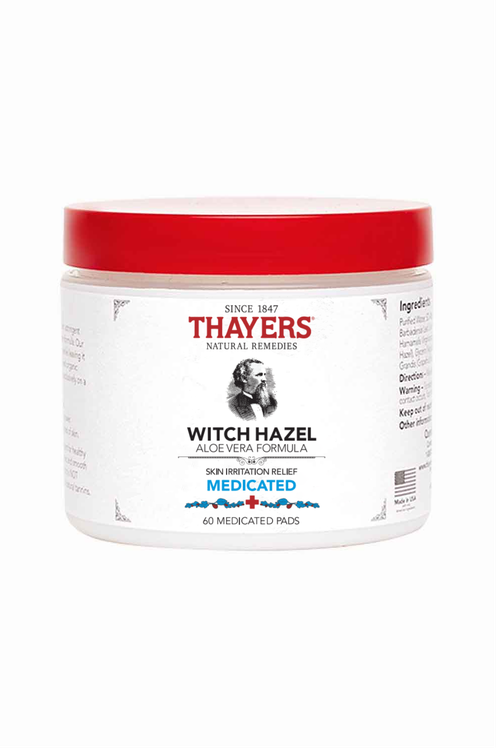 Thayers Medicated Skin Irritation Relief Pads