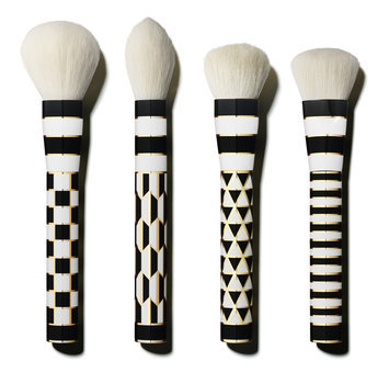 Slide: Sonia Kashuk The Geometrics Four-Piece Brush Set