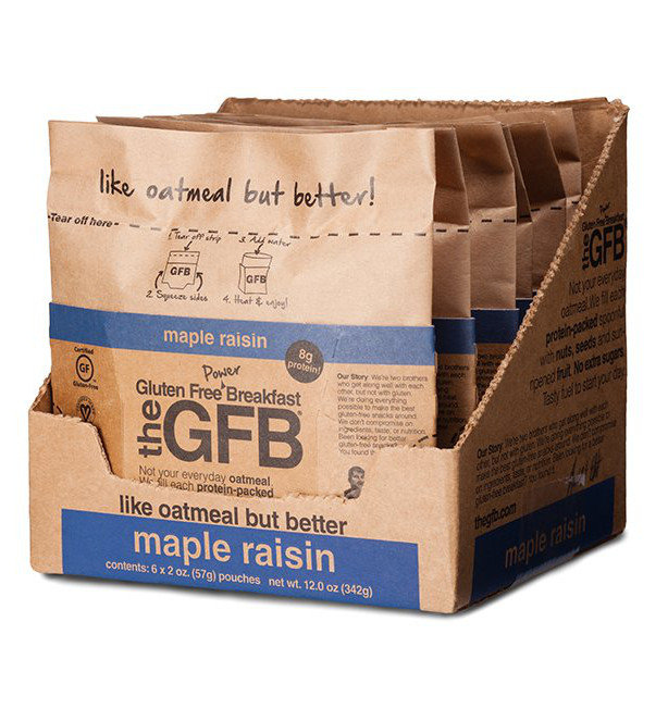 The Gluten Free Bar Maple Raisin - Power Breakfast