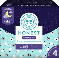 The Honest Co. Overnight Diapers Size 4
