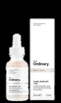 The Ordinary. Lactic Acid 10% + HA
