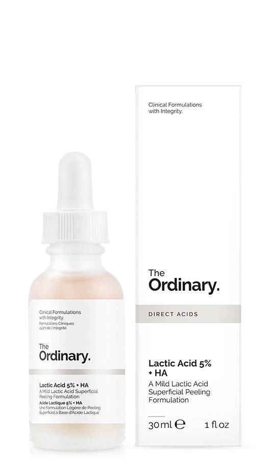 The Ordinary. Lactic Acid 5% + HA