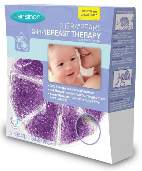 Lansinoh Thera°Pearl® 3-In-1 Breast Therapy