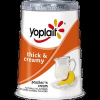Yoplait® Thick & Creamy Peaches 'n Cream Yogurt