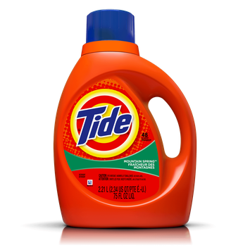 Tide Mountain Spring Scent Liquid Laundry Detergent