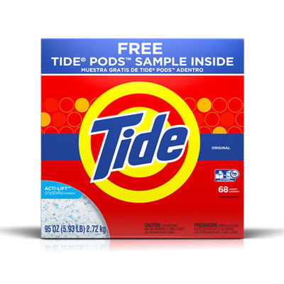 Tide Ultra Original Scent HE Powder Laundry Detergent