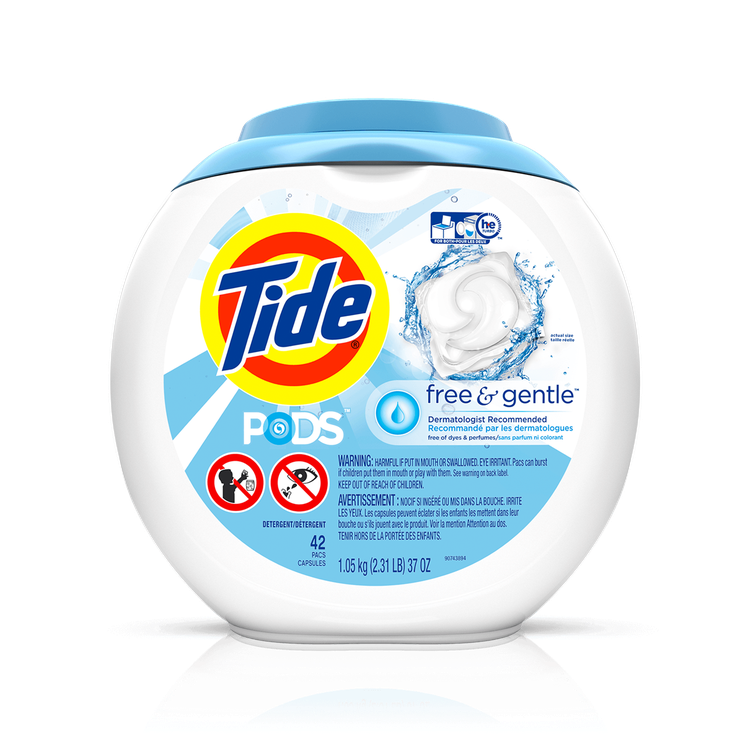 Tide Pods 174 Free And Gentle Laundry Detergent Reviews 2019