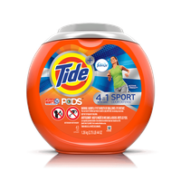 Tide PODS® Plus Febreze Sport Odor Defense™ Laundry Detergent