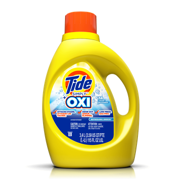 Tide Simply Plus Oxi Liquid Laundry Detergent