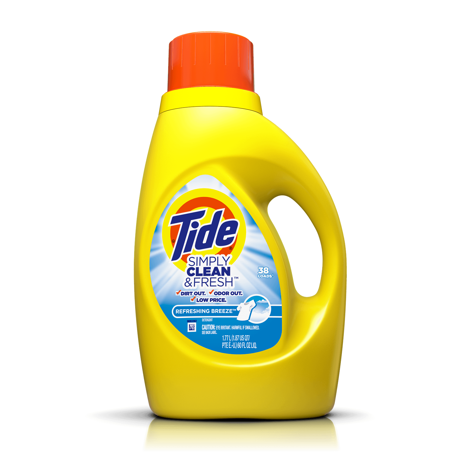 Tide Simply Clean And Fresh Liquid Refreshing Breeze Laundry Detergent