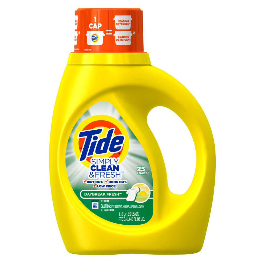 Tide Simply Clean And Fresh Liquid Daybreak Fresh Laundry Detergent
