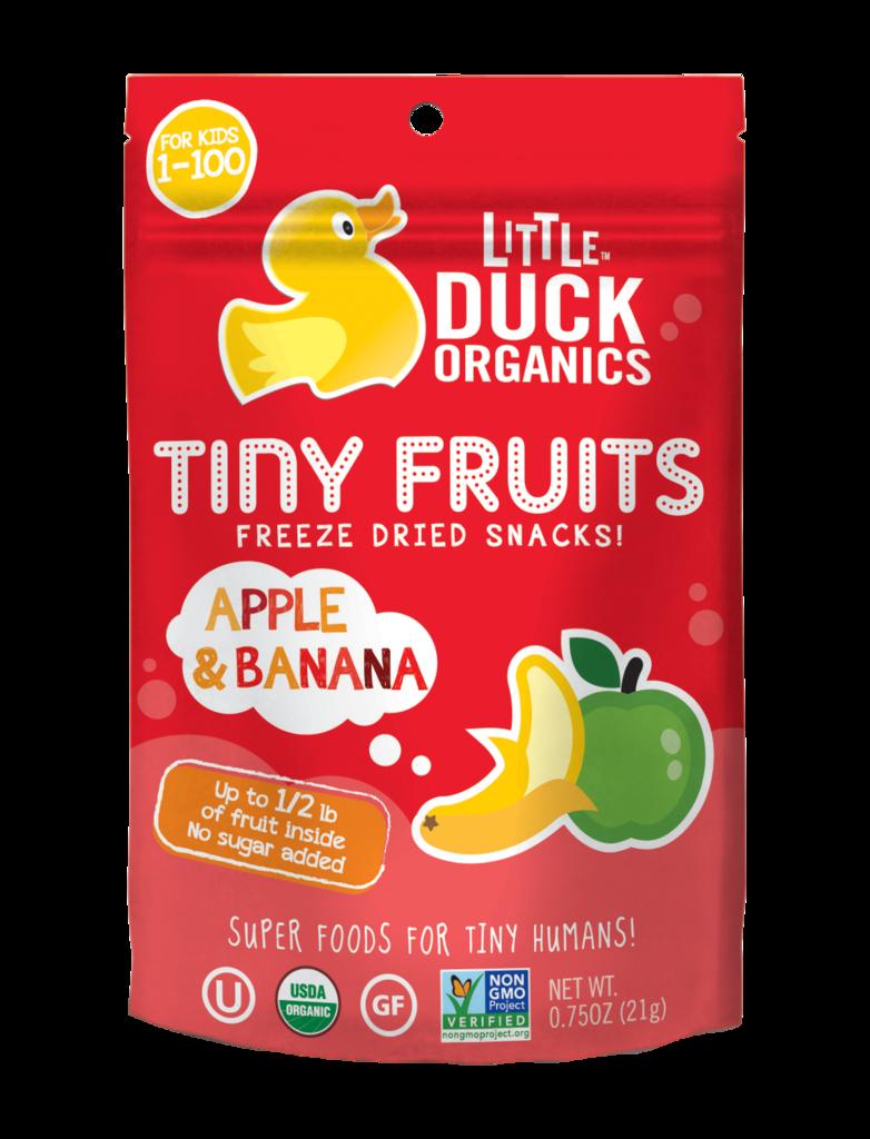 Little Duck Organics Apple & Banana Tiny Fruits