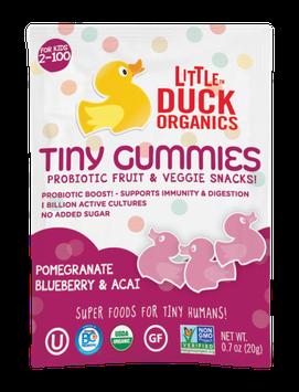 Little Duck Organics Pomegranate, Blueberry & Acai Tiny Gummies