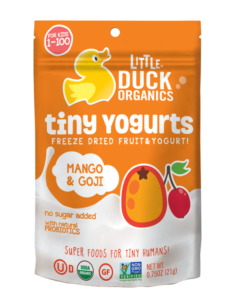Little Duck Organics Mango & Goji Tiny Yogurts