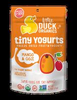 Little Duck Organics Mango & Goji Tiny Yogurts