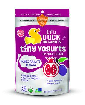 Little Duck Organics Tiny Yogurts Pomegranate & Acai