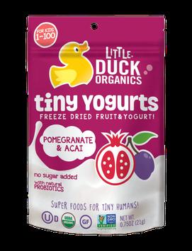 Little Duck Organics Pomegranate & Acai Tiny Yogurts