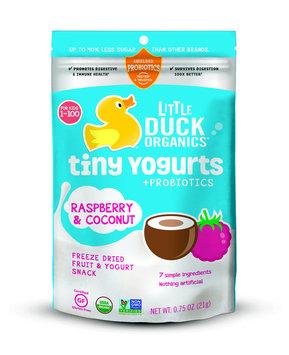 Little Duck Organics Tiny Yogurts Raspberry & Coconut