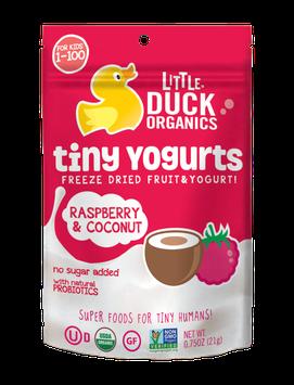 Little Duck Organics Raspberry & Coconut Tiny Yogurts