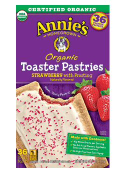 Annie's®  Organic Strawberry Toaster Pastries