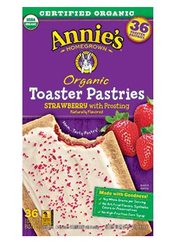 Annie's® Organic Brown Sugar Cinnamon Toaster Pastries