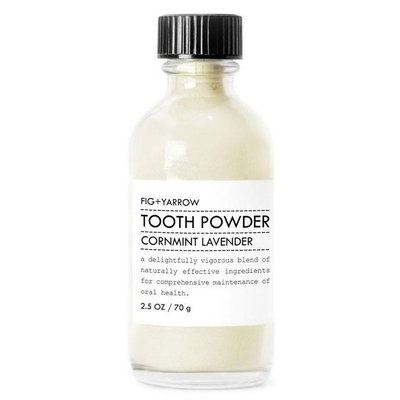 Fig + Yarrow Tooth Powder Cornmint Lavender