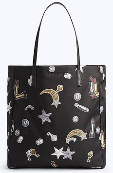 Marc Jacobs Tossed Charms Printed Shopping Bag