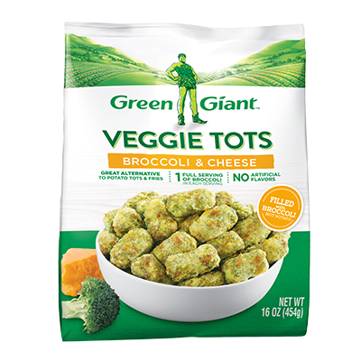 Green Giant® Broccoli & Cheese Veggie Tots Meal
